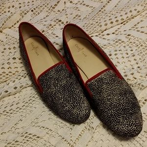 Cole Haan printed cowhide flat shoes size 10B